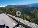 Monaco - Bergstrecken an der französischen Riviera - Traumhaft