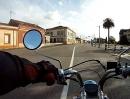 Monkey Bike / Dax Testing an Dax replica . Gijon ( North Spain )