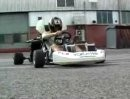 Monster Kart mit 172ps Motorrad-Motor einer Honda Fireblade