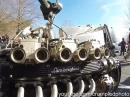 Monster Custombike mit 12 Zylinder Lamborghini Motor - gewagt