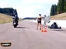 Monsterkart (mit Fireblade Motor) vs KTM X-Bow vs Yamaha V-Max aus GRIP - Das Motormagazin