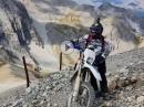 Mont Chaberton, Cottischen Alpen, Yamaha TT600, Beta Alp4.0