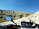 Mont Ventoux Motorradreise, Provence, Frankreich