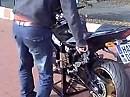 Montageständer Paddock Racing hebt gesamtes Motorrad hoch