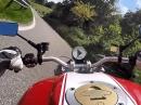 Monte Baldo südlich mit Ducati Monster