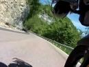 Monte Bondone von Trient (Trentino, Norditalien) aus