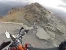 Monte Jafferau Skipiste offroad mit Mimoto und KTM Freeride 350