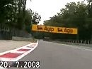 Monza - Aprilia RSV 1000 camera on board