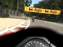 Monza Onboard mit Honda CBR1000R