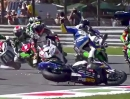 Monza Superstock 1000 (STK1000) Highlihgts Rennen Hammer Rennen!