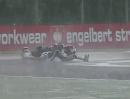 Monza Superstock 600 (STK600) Highlihgts Rennen Regenschlacht