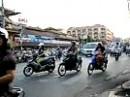 Mopedverkehr in Saigon - unglaublich