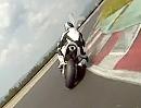 Most onboard Ducati 996 SPS 04.07.2010 mit Schleifendes Knie