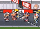 Motegi (JapaneseGP) MotoGP 2017 Highlights Minibikers - Dovizioso gewinnt / Marquez 100. Podium