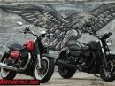Moto Guzzi Audace 2015 Testride Nachtschwarzes Musclebike