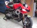 Moto Guzzi MGS 01 - einer der schönsten Guzzis - Warmup / Rundgang