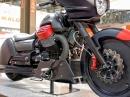 Moto Guzzi MGX-21 Carbon Bagger Prototyp auf der Eicma