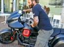 Moto Guzzi MGX21 Testride mit Jens Kuck Motolifestyle