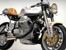 Moto Guzzi 'Miss Memphis' Cafe Racer by Santiago Chopper
