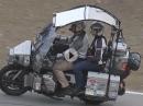Moto Guzzi Spada modifiziert für eine Weltreise - unglaublicher Umbau