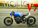 Moto Guzzi V7 Racer Mono - Geiler CafeRacer Umbau von Lucky Custom
