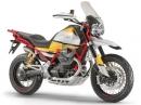 Moto Guzzi V85 neuer Motor verbaut in einer Retro-Enduro - Hoch leben die Achtziger