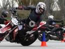 Moto Gymkhana Catalunya Cup - Saisoneröffnung der europäischen Szene