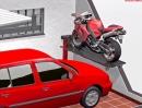 Moto-Lift Die Motorrad Parklösung für die Garage