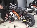 Moto3 KTM Einzylinder Sound in der Box von Jerez 2012