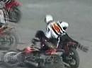 Motoball = Fußball mit Motorrädern