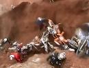 Motocross Crash Erdloch: Hast Du das Loch gesehen? Nein deshalb lieg ich ja da drin