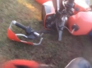 Motocross Crash: Wenn beim crossen dir der Lenker bricht ...