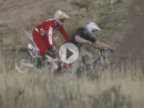 Motocross (Cue) vs. Mountainbike (Godfrey) - We are all Racers von Michelin