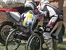 "Motocross-Rollstuhlfahrer: ""When you can't stand... just Ride."" Live and Learn"
