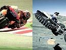 Motocross vs. Rennstrecke - Slow in Motion - geile Aufnahmen - Motorsport ist sexy