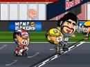 MotoGP Argentinien 2015 Minibikers - Rossi und Maradonna