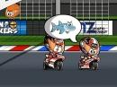 """MotoGP Assen 2014 Minibikers - Marquez """"schwimmt"""" ins Ziel"""