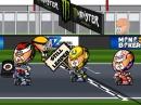 MotoGP Barcelona 2015 Minibikers - Lorenzo mit dem Hammer