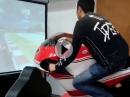 MotoGP Ducati Motorrad Simulator - Fit durch den Winter