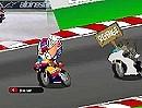 MotoGP Indianapolis. Stoner vs. Biber Comic MotoGP von Los Minibikers