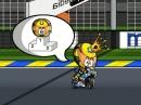 MotoGP Le Mans 2014 Minibikers. 5. Sieg für Marquez vor Rossi