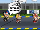 MotoGP Le Mans 2015 Minibikers - ebenfalls Lorenzos Land