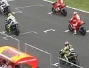 MotoGP Rennstart Jerez - Box aufdrehen - genießen