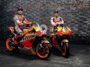 MotoGP Repsol Honda Team Präsentation 2021, Marc Marquez, Pol Espargaro