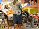 MotoGP Sound als Marco Simoncelli (SuperSic) Tribut - Pizzeria Hochey in Misano