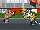 MotoGP Valencia 2014 Minibikers. Rossi Vizeweltmeister