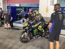 MotoGP Yamaha Qatar 2020 Rossi & Vinales - Boxen auf!