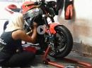 D. Weingartner: Motorausbau Yamaha R6 im Zeitraffer 'Selbst ist die Frau!'