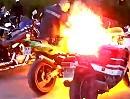 Motorplatzer. Wie kille ich final einen Motorradmotor? Vollidiot