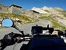 Auffahrt (Nord) Col de la Bonette, Haute Provence, Frankreich - Motorradtour